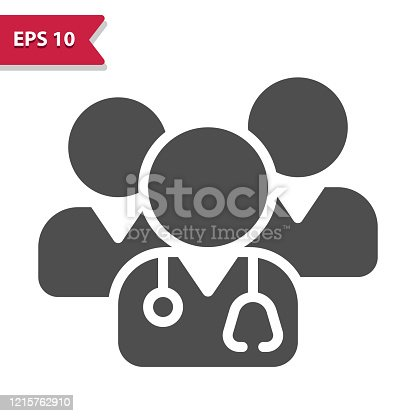 istock Medical Team Icon 1215762910