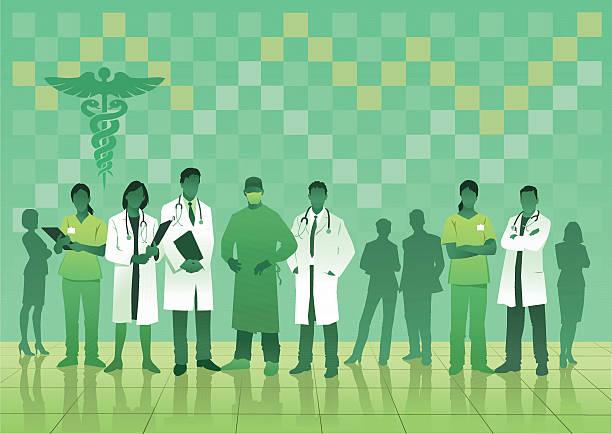Best Hospital Staff Illustrations, Royalty-Free Vector ...