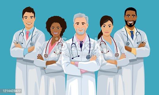 istock Medical team 1214423422