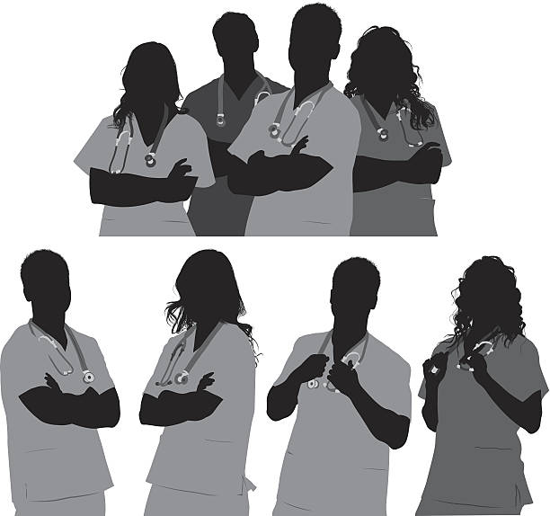 Medical team Medical teamhttp://www.twodozendesign.info/i/1.png male nurse stock illustrations