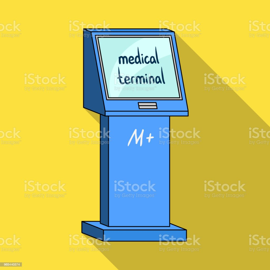 Medical terminal. Terminals single icon in flat style isometric vector symbol stock illustration web. royalty-free medical terminal terminals single icon in flat style isometric vector symbol stock illustration web stock vector art & more images of appliance