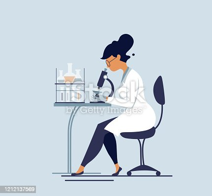 istock Medical tests illustration. 1212137569
