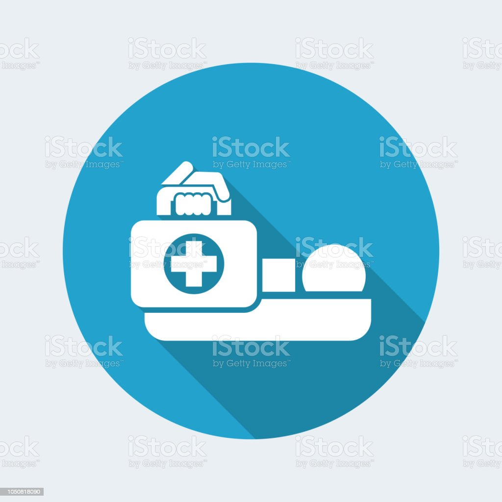 Medical To Domicile Stock Illustration - Download Image Now