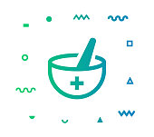 istock Medical Vector Icon Line Illustration 1178942168