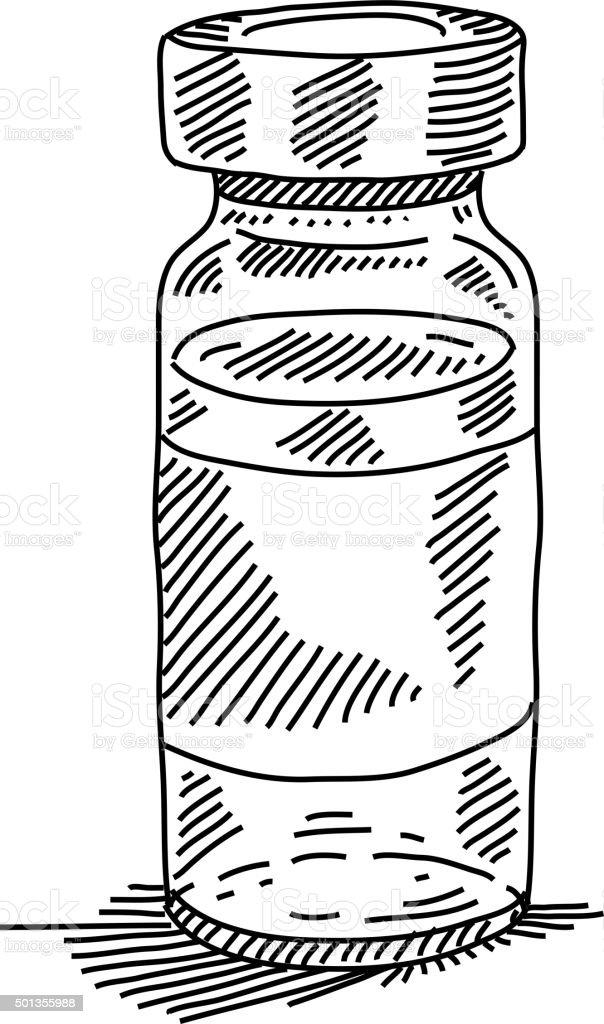 Vetores De Desenho Garrafinha Medico E Mais Imagens De Arte Linear
