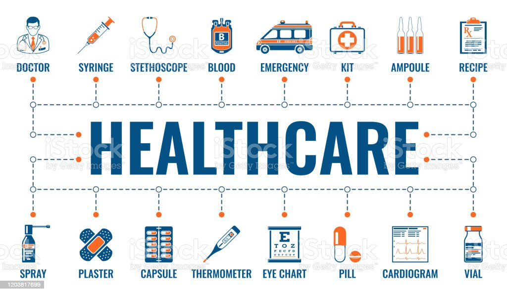 Medicine And Healthcare Banner Stock Illustration Download Image Now Istock