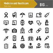 Medicine and Healthcare Icons - Big Series