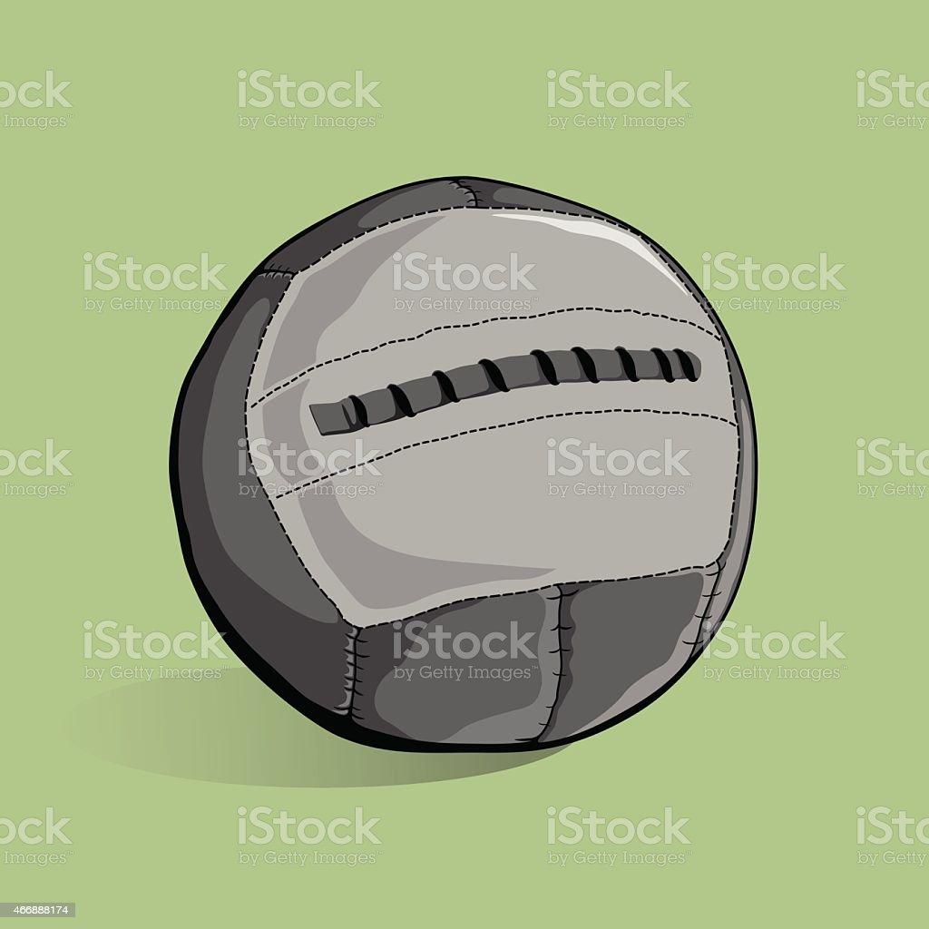 medicine ball stock vector art more images of 2015 466888174 istock rh istockphoto com Dishes Vector medicine ball vertical throw