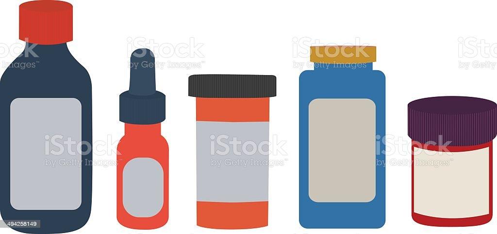 Medicine bottles royalty-free medicine bottles stock vector art & more images of bottle