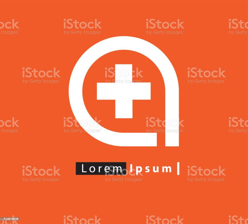 Medicine Concept Design vector art illustration