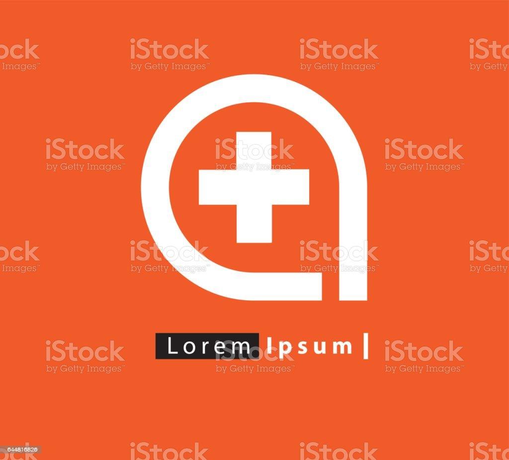 Diseño de concepto de la medicina - ilustración de arte vectorial