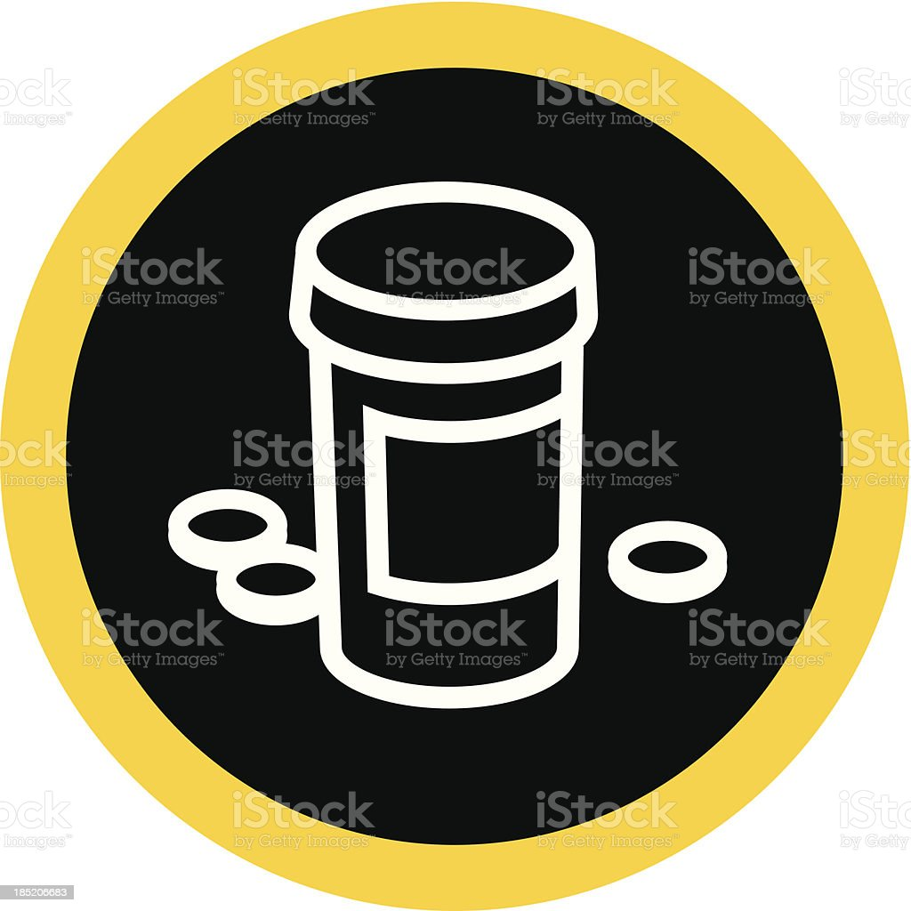 Medicine Container royalty-free medicine container stock vector art & more images of addiction