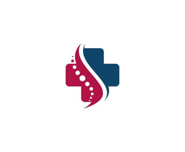 ilustraciones, imágenes clip art, dibujos animados e iconos de stock de medicina cruz icono - logos de médico