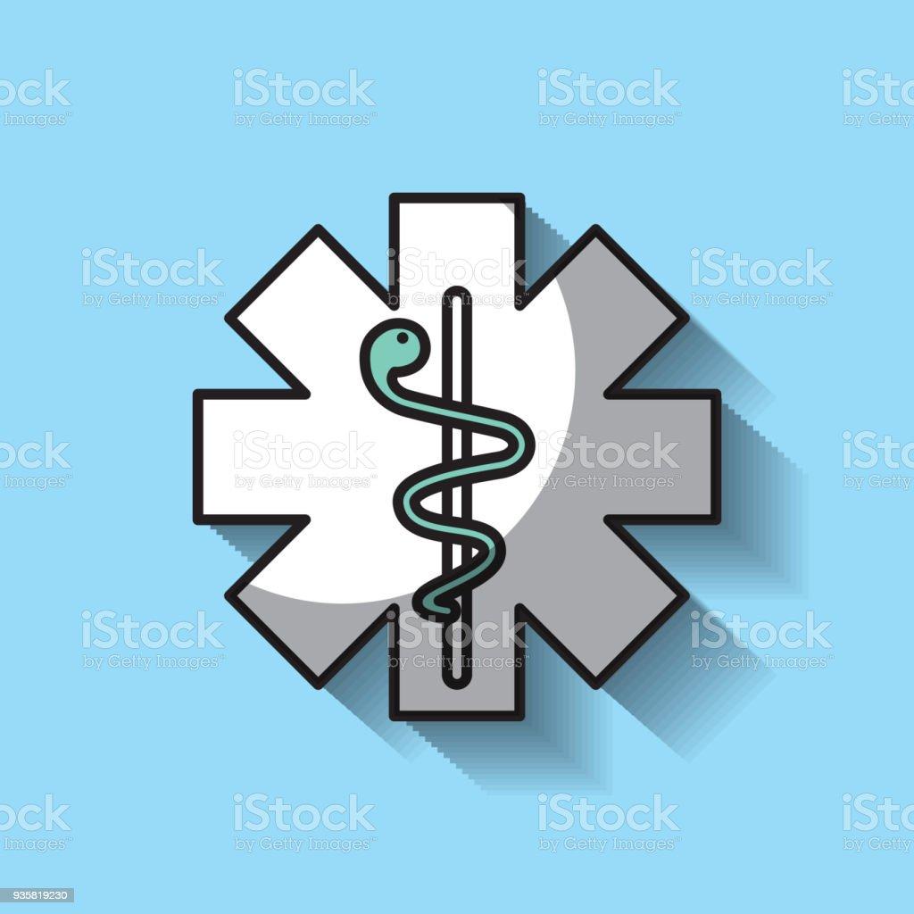 Medicine Emblem With Snake Stock Vector Art More Images Of