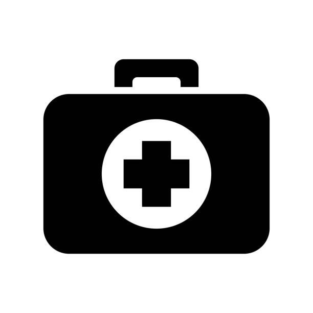 의학 응급 처치 키트 - 응급 처치 stock illustrations