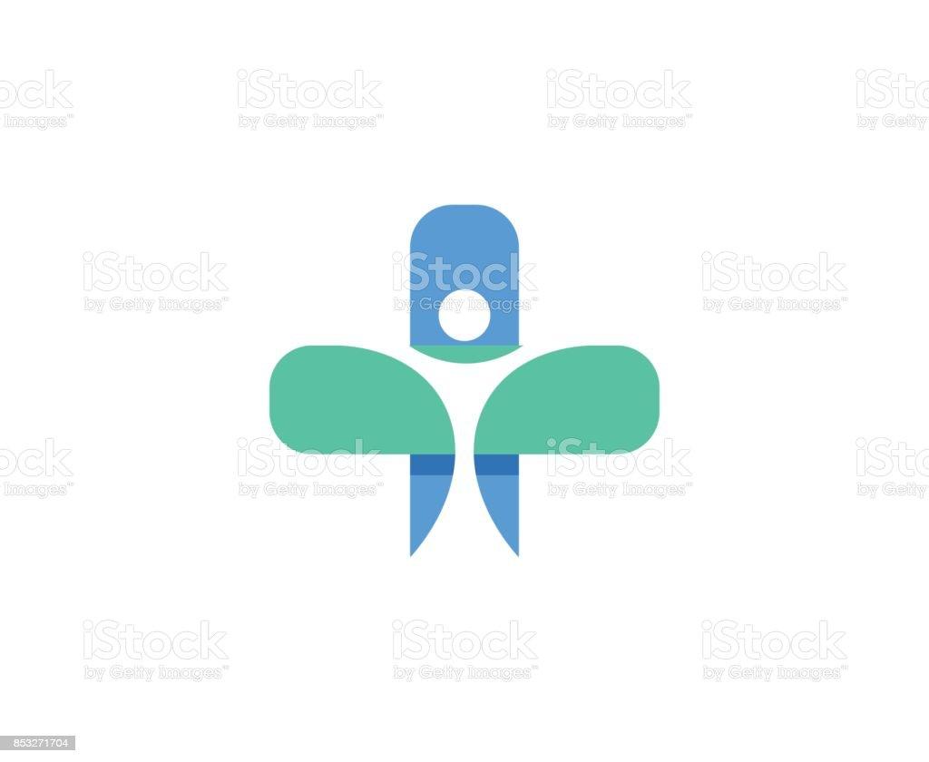 Icono de medicina - ilustración de arte vectorial