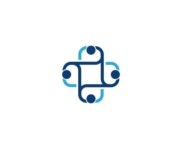 ilustraciones, imágenes clip art, dibujos animados e iconos de stock de icono de medicina - logos de médico