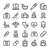Medicine Icons - Smart Line Series