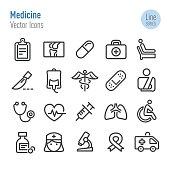 Medicine Icons - Vector Line Series
