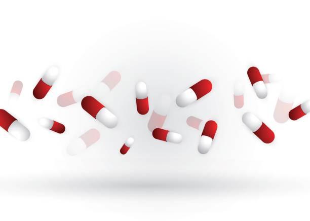 Pillen van de geneeskundevectorkunst illustratie