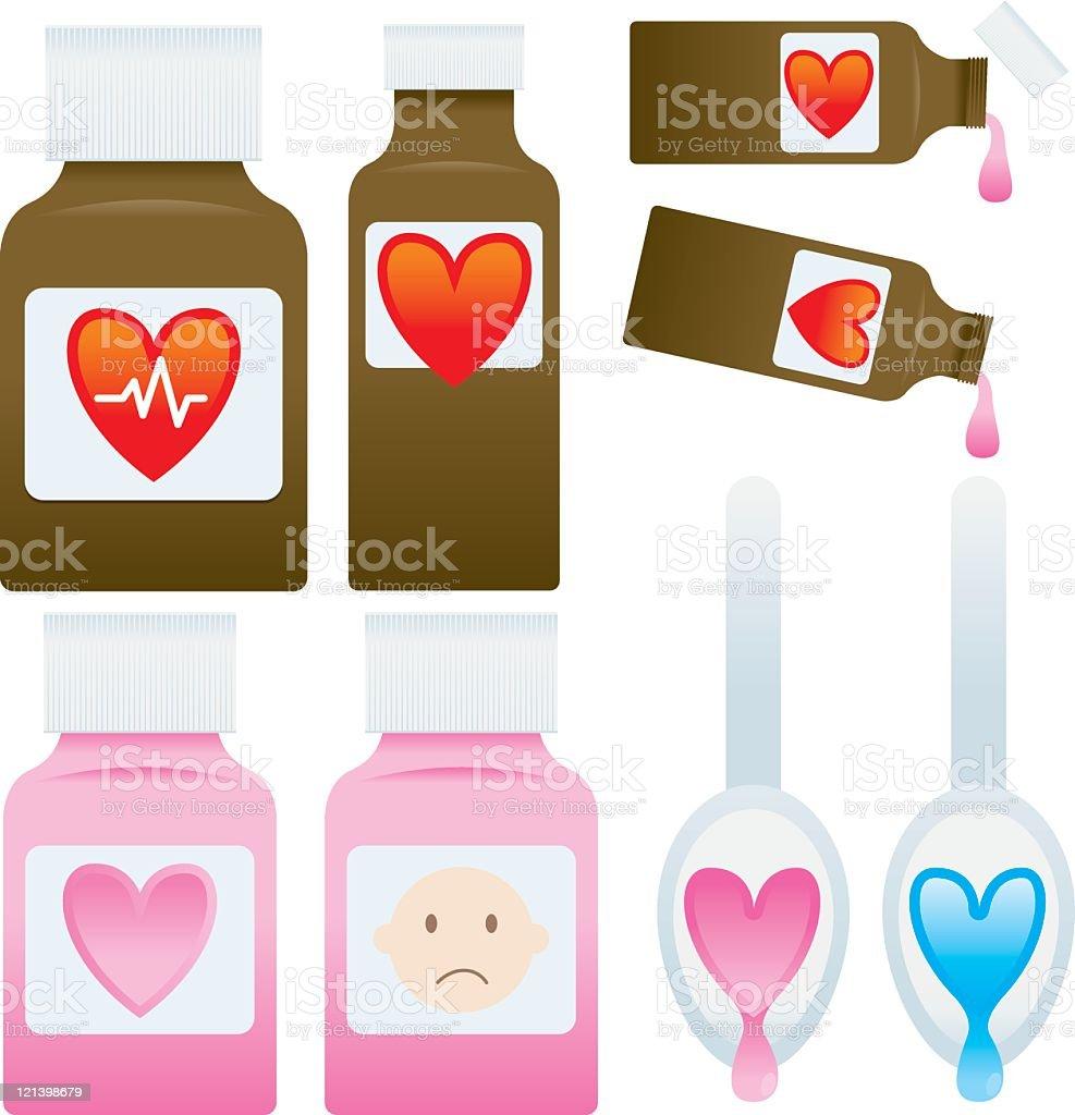 Medicine royalty-free stock vector art