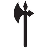 Medieval battle ax