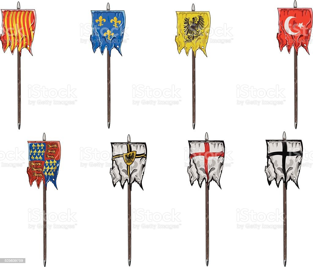 medieval banner template