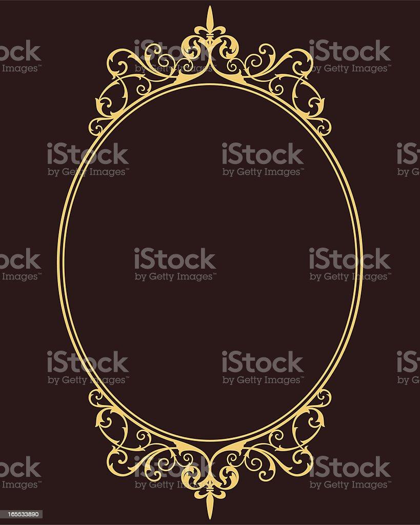 Medieval Frame vector art illustration