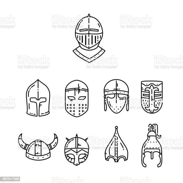 Medieval helmet icon vector id682947568?b=1&k=6&m=682947568&s=612x612&h=ogzkpi0xq fxzl28ge tmyfece8td jjdann0mx8m7y=