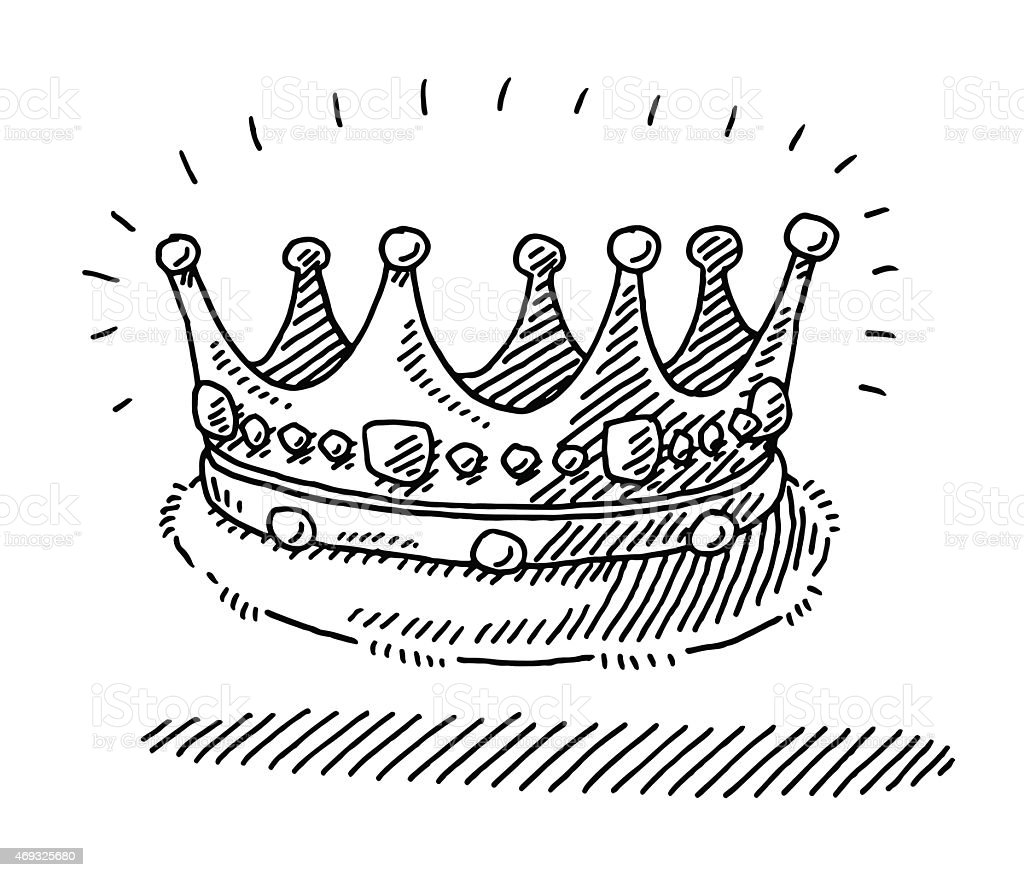 List of Synonyms and Antonyms of the Word: king crown drawing