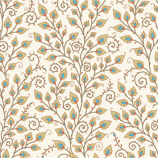 Medieval Seamless Pattern. http://www.istockphoto.com/file_thumbview_approve/16237605/1/16237605-card.jpg tapestry stock illustrations
