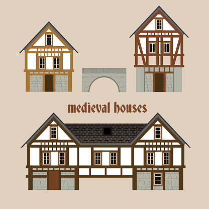 Medieval Town Houses