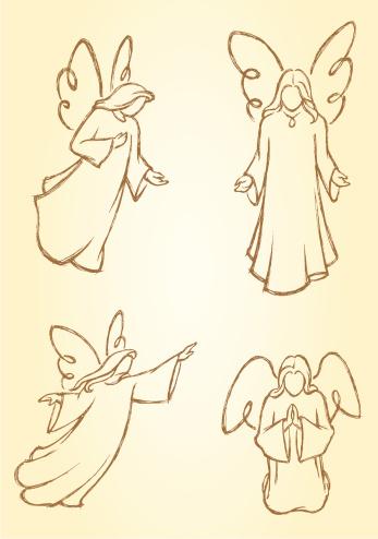 Meditating Angels