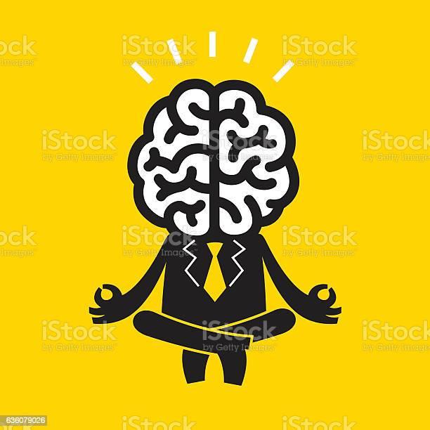 Meditating businessman yellow business concept vector id636079026?b=1&k=6&m=636079026&s=612x612&h=hnjqxn4qhief7xtqfpi1 yibyd3k6td9iuxgb6gg ve=