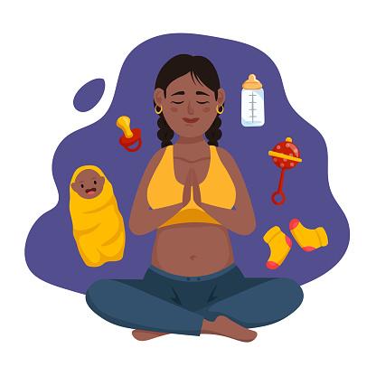 Meditating Mom