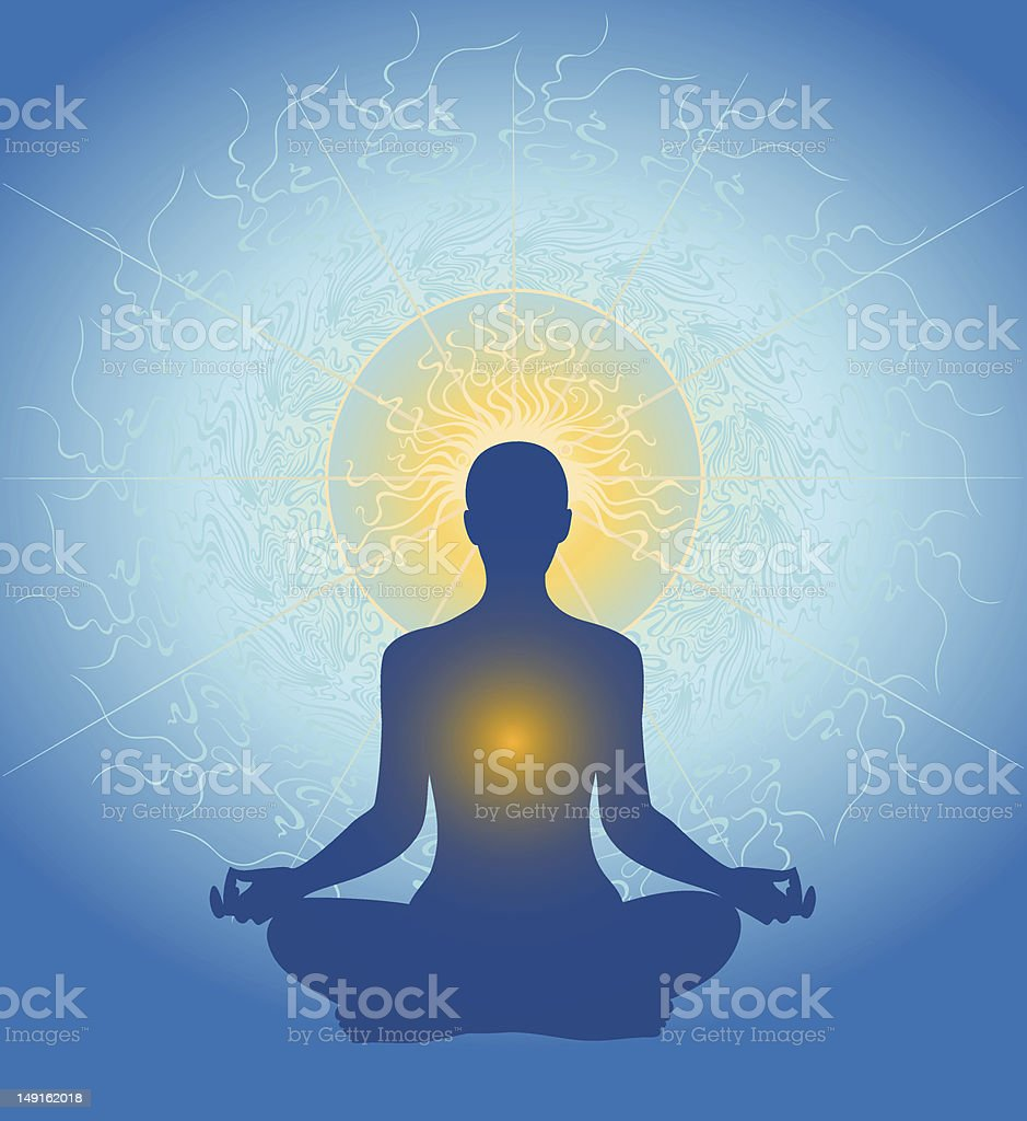 Meditation royalty-free meditation stock vector art & more images of alertness