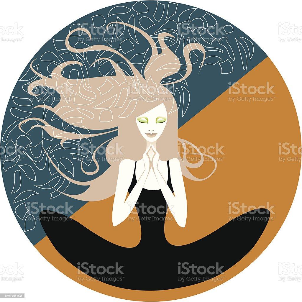 Meditation royalty-free meditation stock vector art & more images of adult
