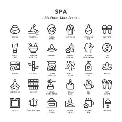 SPA - Medium Line Icons
