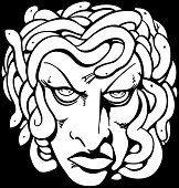 Medusa Face Drawing At Getdrawings Com Free For Personal