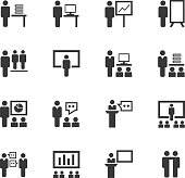 Meeting icon set