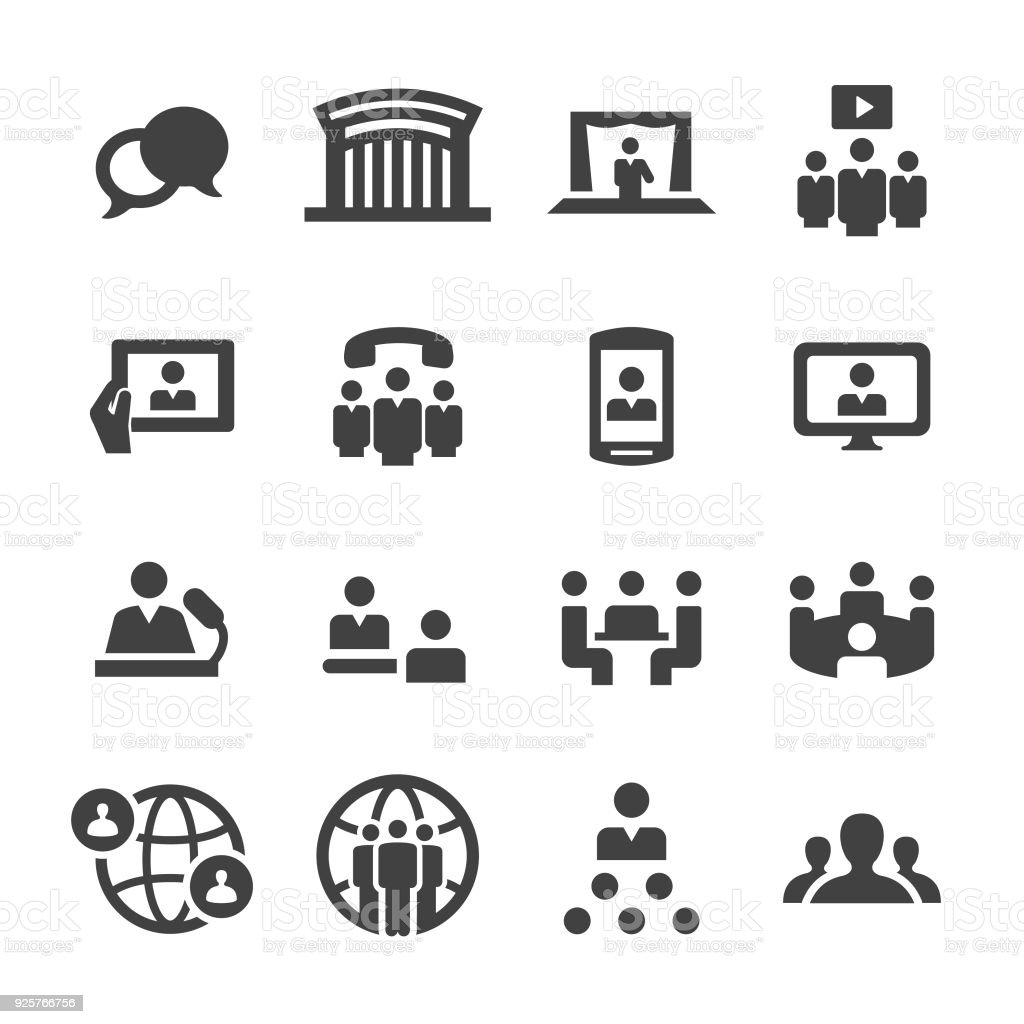 Meeting Icons - Acme Series