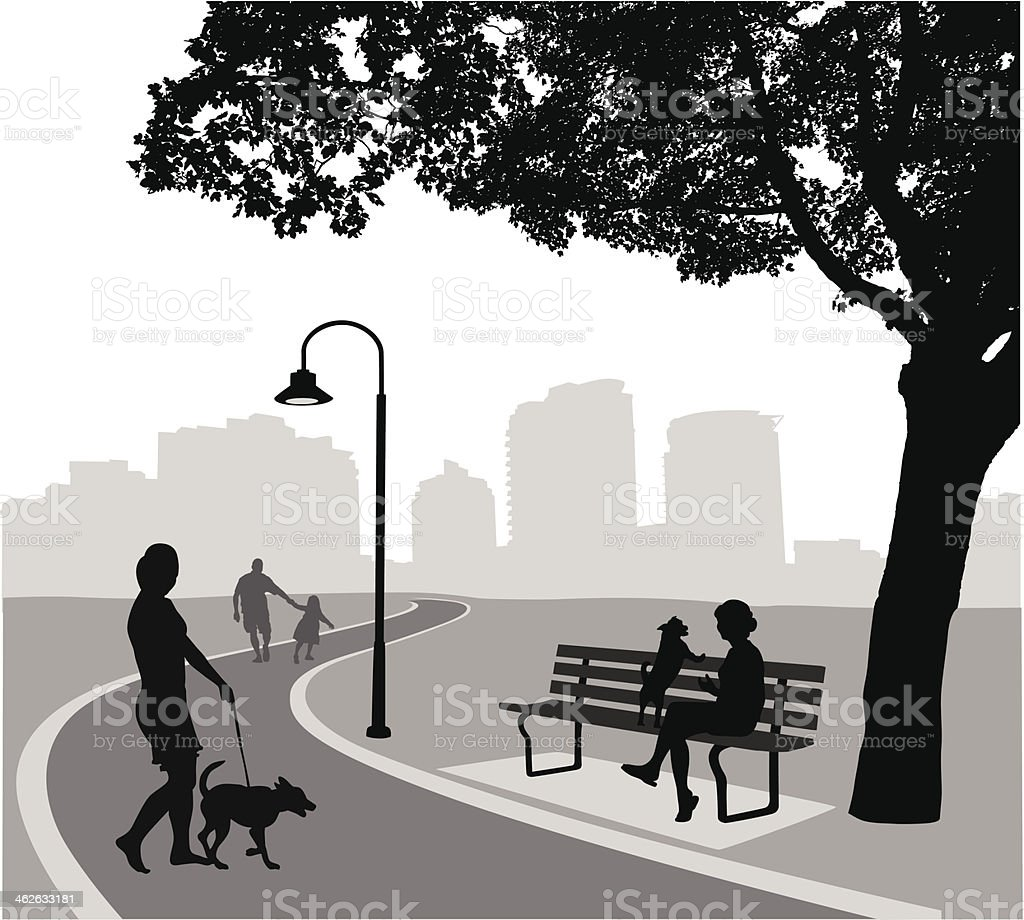 Meeting Outside royalty-free meeting outside stock vector art & more images of black color