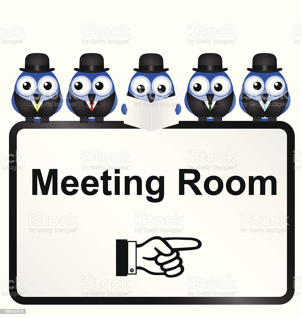 Meeting Room royalty-free stock vector art