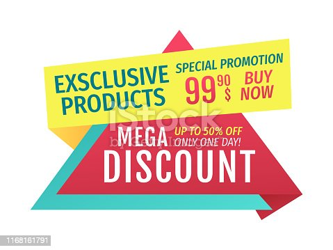 istock Mega Discount for Exclusive Products to Buy Now 1168161791