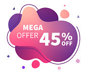 Mega offer neutral abstract fluid illustrations with backgrounds are perfect for covers, presentations and any web or graphics usage.