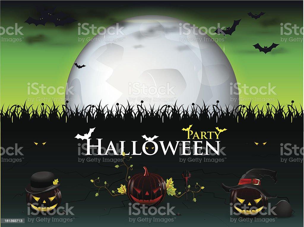 mega patry halloween royalty-free stock vector art