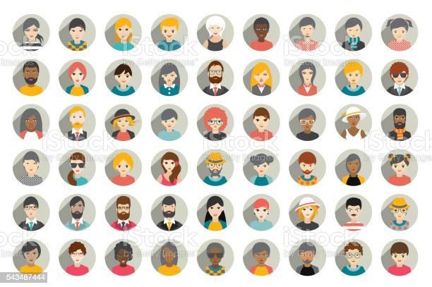Mega set of circle persons avatars people heads different nationality vector id543467444?b=1&k=6&m=543467444&s=612x612&h=nvjujy8ey9cic 7icyco9t6tia4u4kl4r1vjuwa5scs=