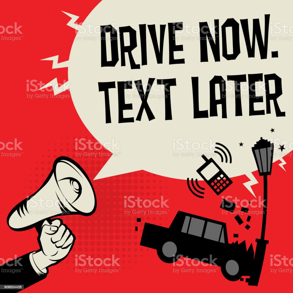 royalty free texting while driving clip art vector images rh istockphoto com car crash clipart black and white car crash clipart black and white