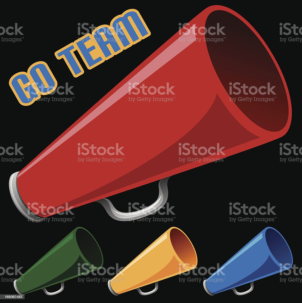 Megaphone royalty-free megaphone stock vector art & more images of audio equipment