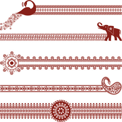 Mehndi Border Designs